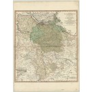2891   Jefferys, Thomas (bei W. Faden): A Map of the Ling of Great Briains Dominions in Germany, or the Electorate of Brunswick-Luneburg, with ist Depemdencies; ....  1781