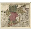 2893   Valk, Gerard Circulus Saxoniae Inferioris, divisa in Ducatus Brunsuici, Zellae, Holsatiae, Meklenburgi et Bremae, Archieüiscopatum Magdeburgi  1700