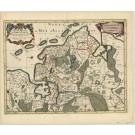 2898   Sanson, Nicolas bei Jaillot, Alexis-Hubert : Oost-Frise, ou Le Comté D´ Embden subdivisé en ses principales Iurisdictions. 1700