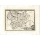2899   Cassini, Giovanni Maria: Il Circolo Della Bassa Sassonia  1796