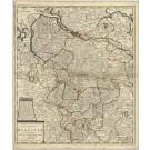2901   Ottens, Reinier und Josua: Carte Nouvelle De L´ Electorat De Hannover ou les Domaines Du Roi De La Grande Bretagne En Allemagne  1757