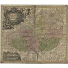 2908   Seutter, Matthias: Moravia Marchionatus in sex Circulos divisus  1730