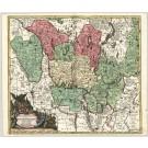 2929   Seutter, Matthias: Electoratus sive Marchia Brandenburgensis  1725