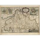 2931   Blaeu, Joan / Mejer, JohannesDithmarsiae Pars Septentrionalis.  1663