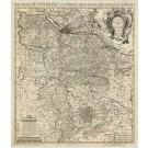 2936   Covens & Mortier: Electoratus Hanoveranus sive Dominia Regis Magnae Brittaniae in Germania  1745