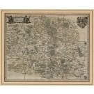2943   Merian, Matthäus: Hassia Landgraviatus  1646