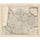 2944   Covens & Mortier / Delisles, Guillaume; Le Gouvernement General de Guienne et Gascogne. 1750