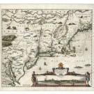 2955   Allard, Huych: Novi Belgii Novaeque Angliae nec non partes Virginiae. 1660