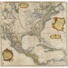 2956   Euler, Leonhard: Mappa Geographica America Settentrionali. 1760
