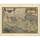 2969   Ortelius, Abraham: Terra Sancta, A Petro Laicstain perlustrata, ..  1595