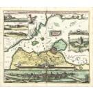 2986   Homann, Johann Baptist : Accurate Vorstellung der Berühmten Meer-Enge zwischen der Nord und Ost See der SUND genannt, mit der herumliegenden Gegend von Seeland und Schonen, nebst der  Königlich Dähnischen Haupt-und Residentz Stadt COPENHAGEN, so wo