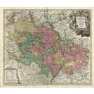 2992   Homann, Johann Baptist : Exactissima Palatinatus ad Rhenum tabula ... 1716