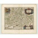 3001   Janssonius, Johannes: Moscoviae Pars Australis  1645