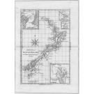 3011   Bonne, Rigobert: Carte de la Nouvelle Zeelande  1787