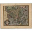 3018   Hondius, Jodocus / Mercator, Gerard: Asia ex magna orbis terre descriptione Gerardi Mercatoris  desumpta studio et industria G.M.Iunioris. 1611