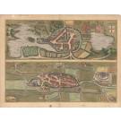 3054   Braun & Hogenberg: Oitinense oppidum et arx Episcopi Lubecensis fedes. 1598