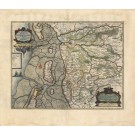 3066   Blaeu, Joan / Mejer, Johannes: Pars Occidentalis Praefecturae Hadersleben cum adjacentibus Ripen et Lohmchloster Praefecturis. 1662
