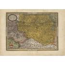 3074   Ortelius, Abraham: Austriae Ducatus Chorographia, Wolfgango Lazio Auctore.  1581