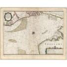 3085   Merian: Tabula Portuum maris Septendrionalis á parte quae Tessel usq quae Hooften appellatur.  1641