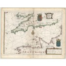 3086   Merian: Portus Canalis intra Angliam et Galliam existentis.  1641