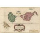 3096   Bellin, Jaques Nicolas: Carte des Isles de Saint Pierre et Miquelon Levee par Ordre de M. le Duc de Choiseul  1763