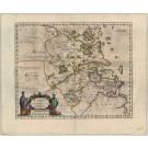 3102  Blaeu, Joan: Nanking, sive Kiangnan, Imperii Sinarum Provincia Nona. 1655