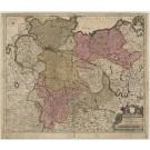 3111   Valk, Gerard : Circulus Saxoniae Inferioris Tripartitus in quo ejus Status atque Principatus exhibentur  1720