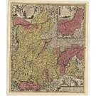 3115   Schenk, Petrus / Visscher, Nicolaus: Bavariae Pars Superior  1720