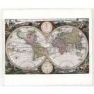 3128   Visscher, Nicolaus: Orbis Terrarum Tabula Recens Emendata et in Lucem Edita per N. Visscher. 1663
