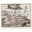 3132   Montanus, Arnoldus : Venezuele cum parte Australi Novae Andalusiae. 1673