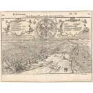 3134   Münster, Sebastian: Sito & Figura di Francofordia citta, come e nel 1546  1558
