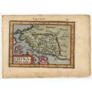 3143   Ortelius, Abraham / Coignet: China, Regio Asiae  1601