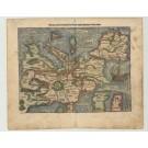 3171   Münster, Sebastian : Europa/das ein Drietheil der Erden/nach gelegenheit unsern zeiten  1540