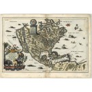 3182   Scherer, Heinrich Idea Naturalis Americae Borealis Digite Die Formata Geographice Proposita  1700