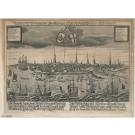 3185   Fürst, Paulus: Bildnus der Vornehmen Handelsstatt Hamburg, an der Elbe liegend  1680
