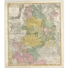 3188   Homann Erben: Circuli Westphaliae  1761