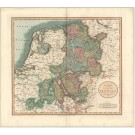 3191   Cary, John: a New Map of the Circle of Westphalia  1799