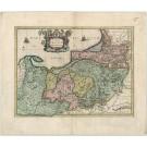 3200 Accurata Prussiae Descriptio,  Mercator, Gerard