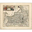 3201   Visscher, Nicolaus: Magnae Prussiae Ducatus Tabula, denuo correcta  1690
