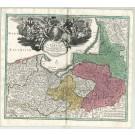 3203   Homann, Johann Baptist : Regnum Borussiae  1729