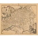 3208   Jaillot, Alexis-Hubert: La Russie Blanche ou Moscovie Divisée Suivant l´Etendue des Royaumes, Duches, Principautés &c.  1690