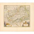 3212   Blaeu, Joan: Comitatus Glatz  1659