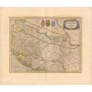 3213   Hondius, Henricus und Janssonius, Johannes / Mercator, Gerard : Sclavonia, Croatia, Bosnia cum Dalmatiae Parte  1645