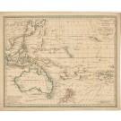 3217   Walch, Johannes: Australien (Südland) auch Polynesien oder Inselwelt, insgemein der fünfte Erdtheil genannt.  1820