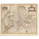 3222   Blaeu, Willem : Wirtenberg Ducatus  1635