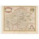 3225   Blaeu, Willem: Nassovia Comitatus  1635