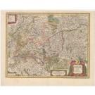 3226   Blaeu, Willem: Sveviae Nova Tabula  1635