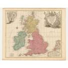 3234   Lotter, Tobias Conrad : La Grande Bretagne ou les Poyaumes d´Agleterre et d´Ecosse commeaussi le Royaume d´Irlande. 1760