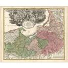 3243   Homann, Johann Baptist: Regnum Borussiae Gloriosis  1730