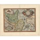 3249   Ortelius, Abraham : Tartariae sive Magni Chami Regni  1584